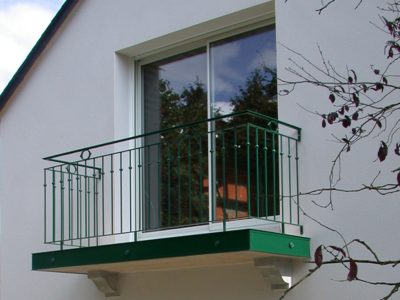 Balcon en acier métal RP métal creation Blanchard google wordpress