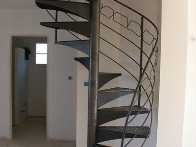 Escalier acier design RP métal creation Blanchard google wordpress
