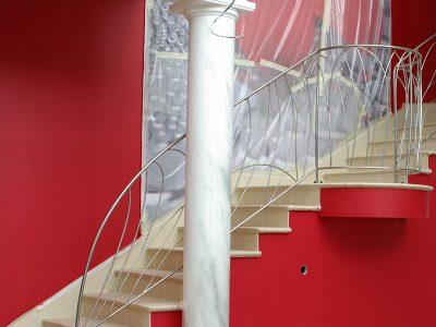 Rampe en Inox design contemporain & ferronnerie d'art RP métal creation Blanchard google wordpress