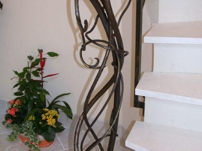 Rampe en acier design contemporain & ferronnerie d'art RP métal creation Blanchard google wordpress