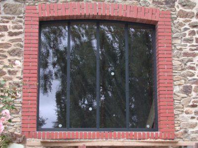 baies vitrée design métal google wordpress