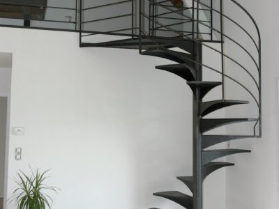 Escalier acier design RP métal creation Blanchard google wordpress