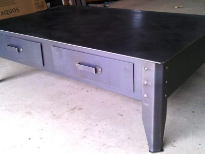 Meuble Table Basse en métal design RP métal creation Blanchard google wordpress
