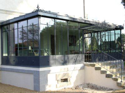 Vérandas à l'ancienne en acier en acier design contemporain & ferronnerie d'art RP métal creation Blanchard google wordpress