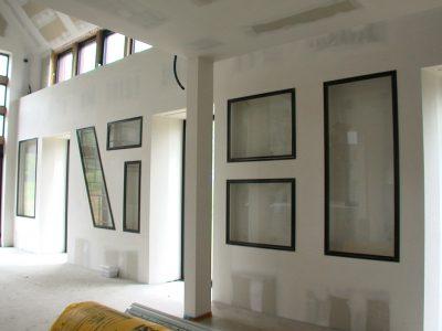Verrière intérieure murale en acier design contemporaine & ferronnerie d'art RP métal creation Blanchard google wordpress
