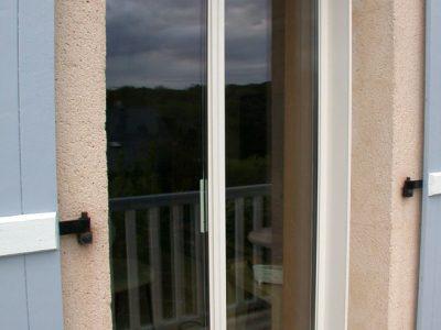 Porte fenêtre en acier design contemporain RP métal creation Blanchard google wordpress