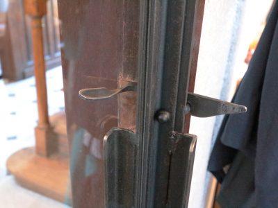 Porte en acier et fer design contemporain RP métal creation Blanchard google wordpress