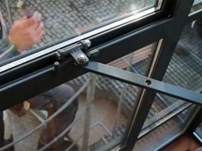 Verrière exterieure en acier design contemporaine & ferronnerie d'art RP métal creation Blanchard google wordpress