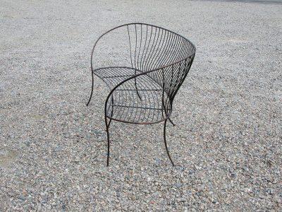 Chaise Design en Acier