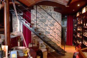 Escalier Droit en Acier
