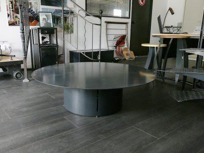 Table ronde en Acier