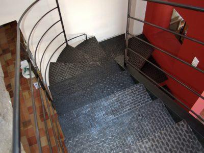 escalier-métal
