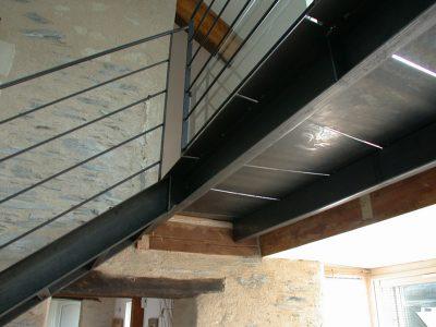 Escalier en Acier & Passerelle